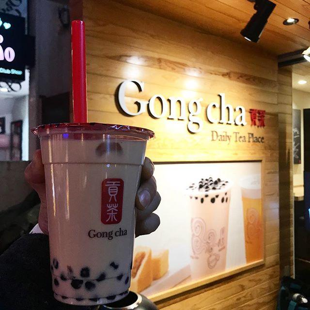 【temiteアプリ】Gonchaで「ブラックミルクティー Mサイズ」を頂く!!