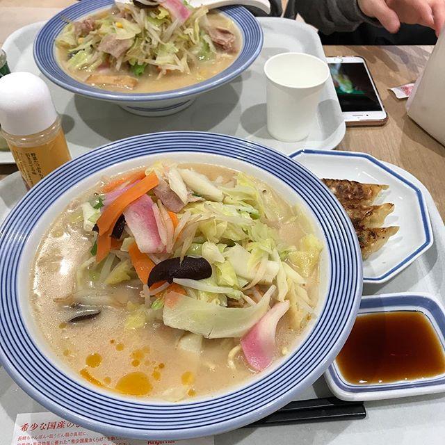 【優待ディナー】野菜たっぷりちゃんぽん@イオン内に入ってたリンガーハット