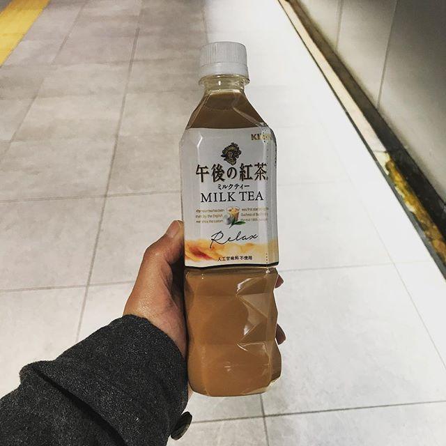 【東急線アプリ】グッジョイクーポン 4月からは「キリン午後の紅茶ミルクティー」を頂けます!!