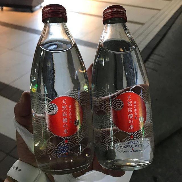 【ReduceGo】福島県奥会津金山町の天然炭酸水 2本をレスキュー@るるぶキッチン