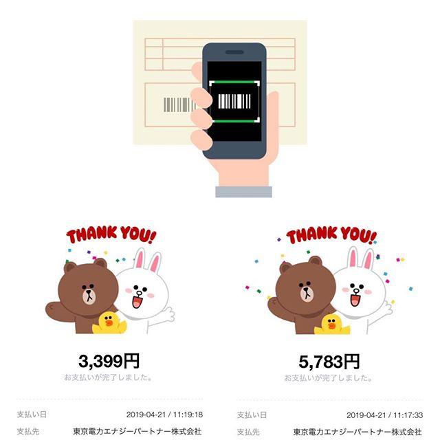 【LINE Pay】電気代を請求書払いにして20%還元キャンペーンに参加!!