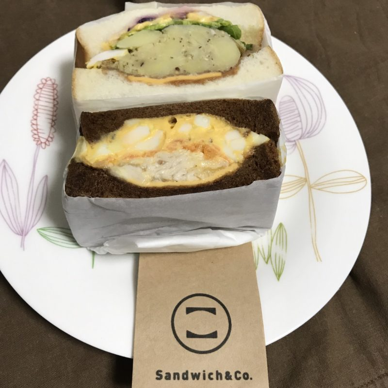 【ReduceGo】パンの耳(セサミと黒)をレスキュー@Sandwich&Co
