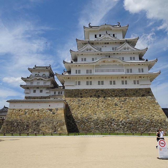 家族4人で姫路城へ観光🚘