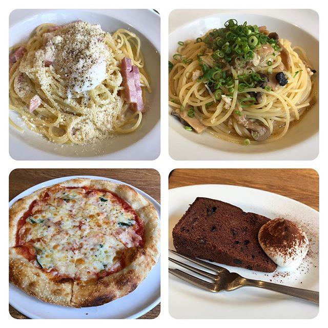 【優待ランチ】ラパウザ「日替わりメニュー」「カルボナーラ」「ピザ」「デザート」を頂く!!