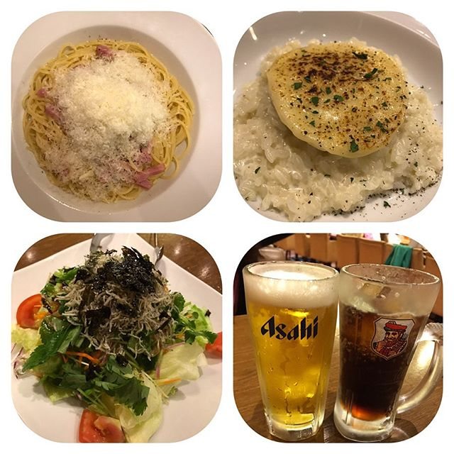 【優待ディナー】ラパウザ「父の日ウィーク」で1杯88円でした!!