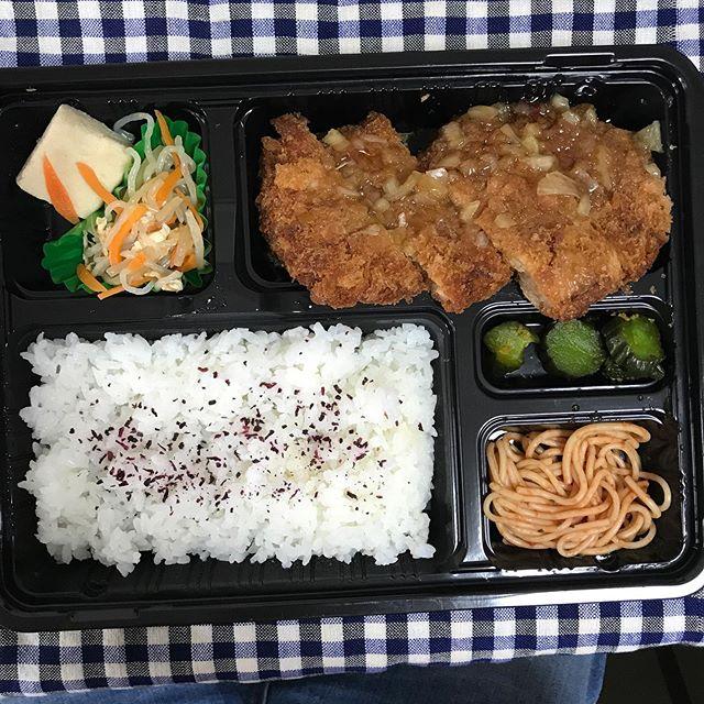 【ReduceGo】渋谷にある ケイエーラボ さんより「日替わり弁当 玉ねぎ甘酢ソース弁当」を頂く❣️
