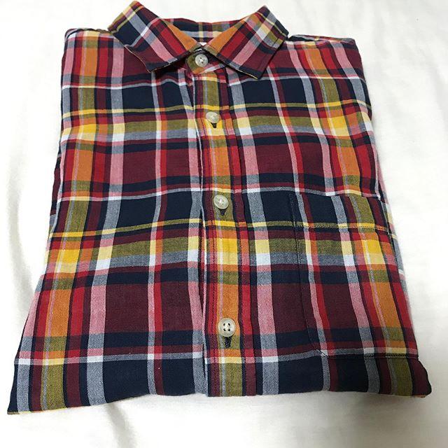 アダストリアのグローバルワークで夏服 ガーゼシャツを購入❣️