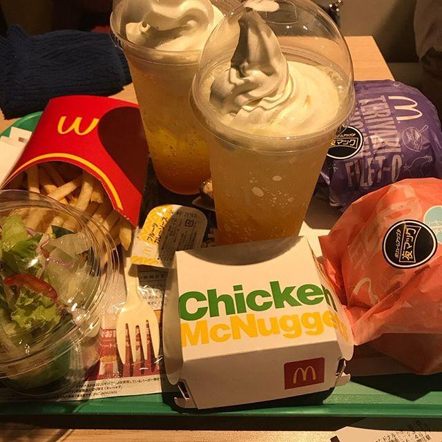 【優待ディナー】マクドナルド で「えびフィレオ のパティ倍」を頂く❣️