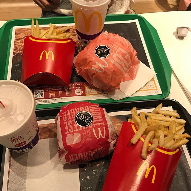 【優待ディナー】マクドナルドで「倍ダブルチーズバーガー」を頂く!!<br>残り1冊と2枚も残ってるよ!!今月はマクドナルド祭り!!