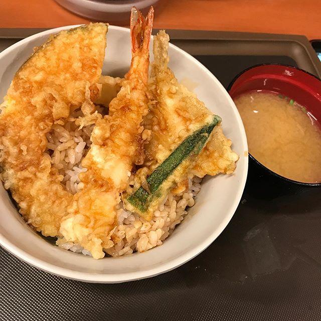 【優待ディナー】天丼てんやで「天丼」を頂く❣️