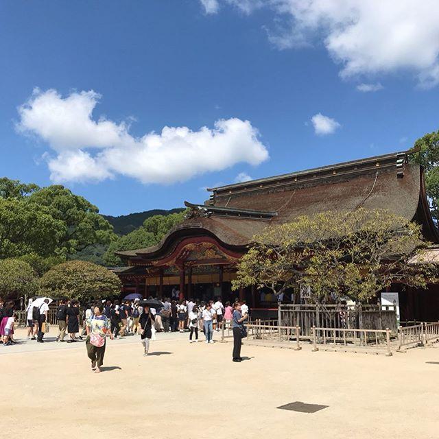 【福岡旅行】太宰府天満宮、独特な建築スタイルのスタバ、梅ヶ枝餅