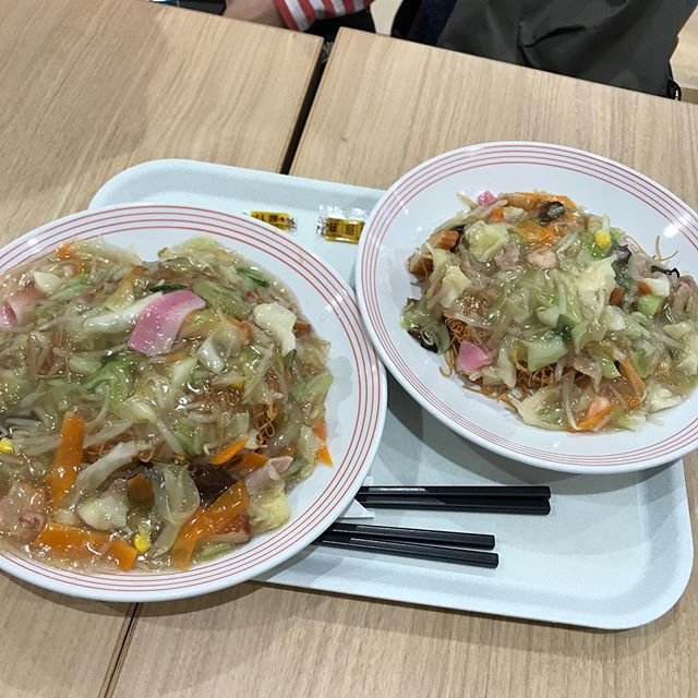【優待ディナー】イオン内にあるリンガーハットで「長崎皿うどん」を頂く❣️