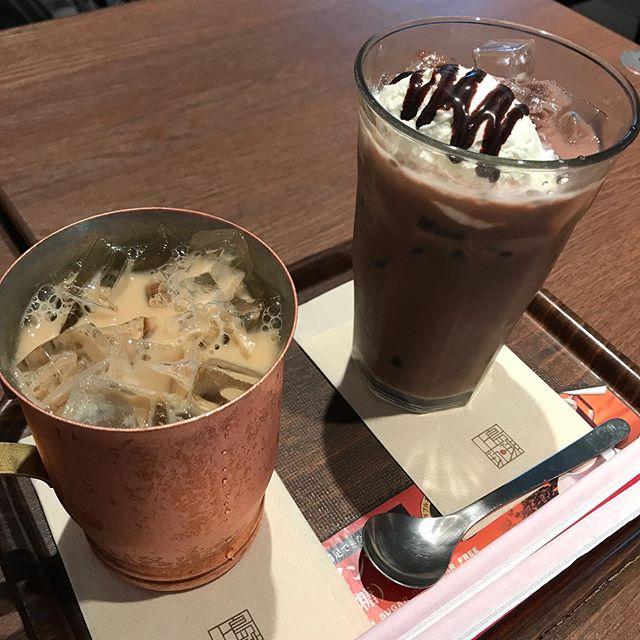 【優待カフェ】上島珈琲で「ノンカフェインコーヒーの黒糖」を頂く❣️