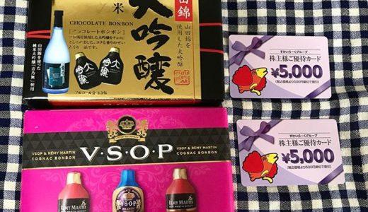 【バレンタインデー2020】母親からお酒のチョコレートと誕生日プレゼント すかいらーくの株主優待券が届きました🎁
