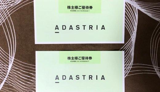 【2020年2月優待】カタログギフト1,000円券×6枚<br>アダストリア(2685)より届きました❣️