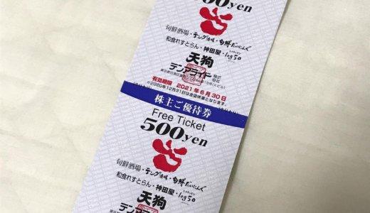 【2020年9月株主優待】株主ご優待券 10,000円分<br>テンアライド(8207)より到着しました❣️