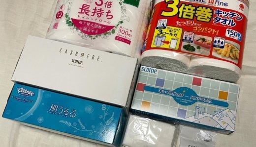【2021年3月株主優待🎁】自社製品詰め合せ 1,500円相当<br>日本製紙(3863)より到着しました❣️