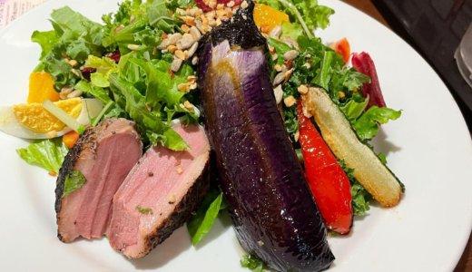 【株主優待ディナー🍽】デニーズで「ハーブ爽育鴨と夏野菜のパワーサラダ 🥗」を頂く❣️